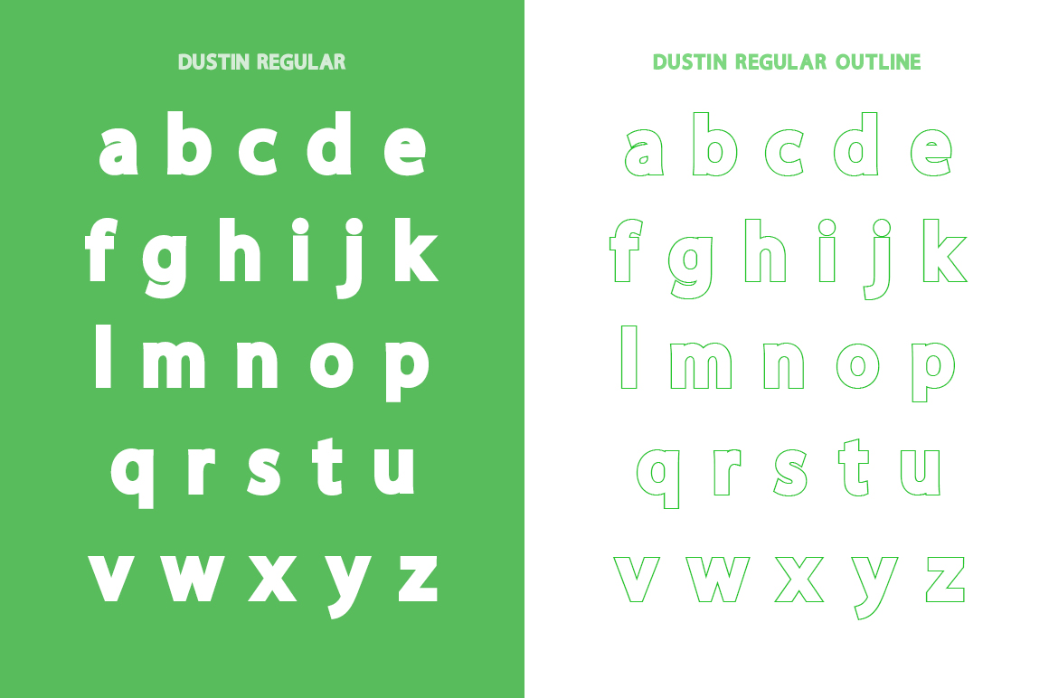Dustin Font Family example image 9
