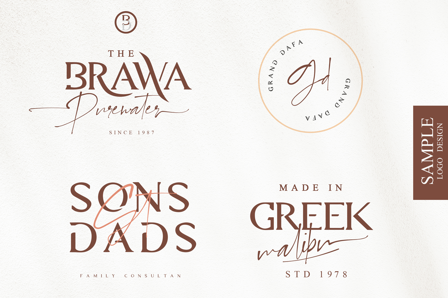 Diora Sunbright Font Duo example image 5