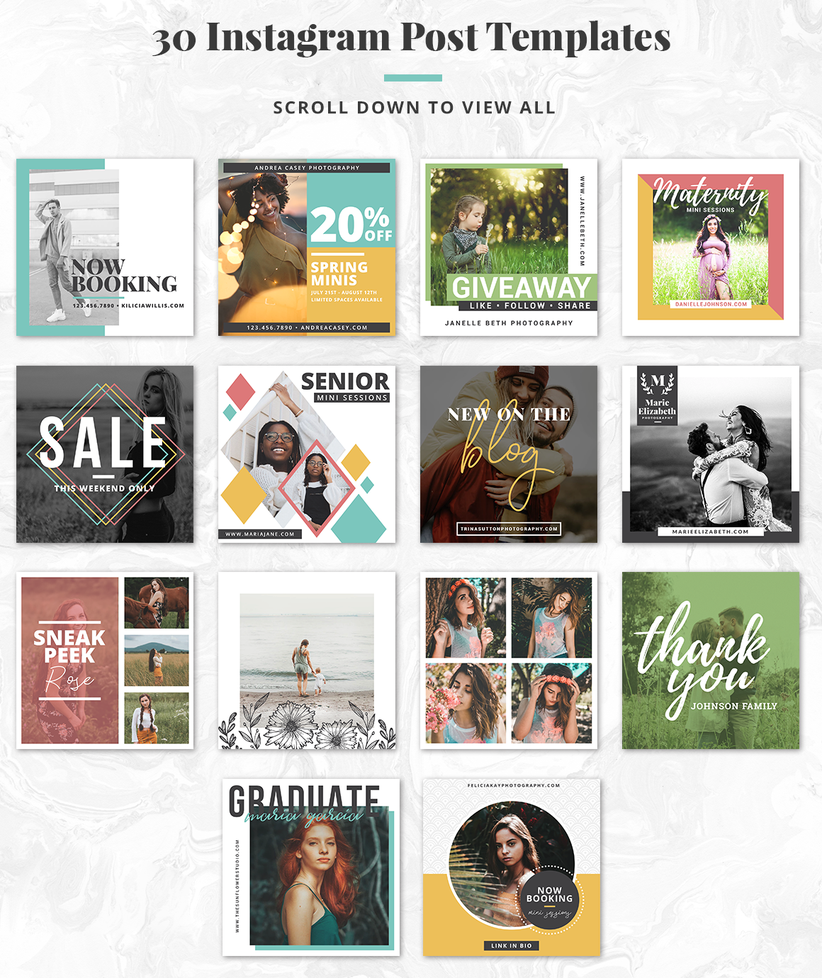 The Essential Photography Branding & Marketing Kit example image 11