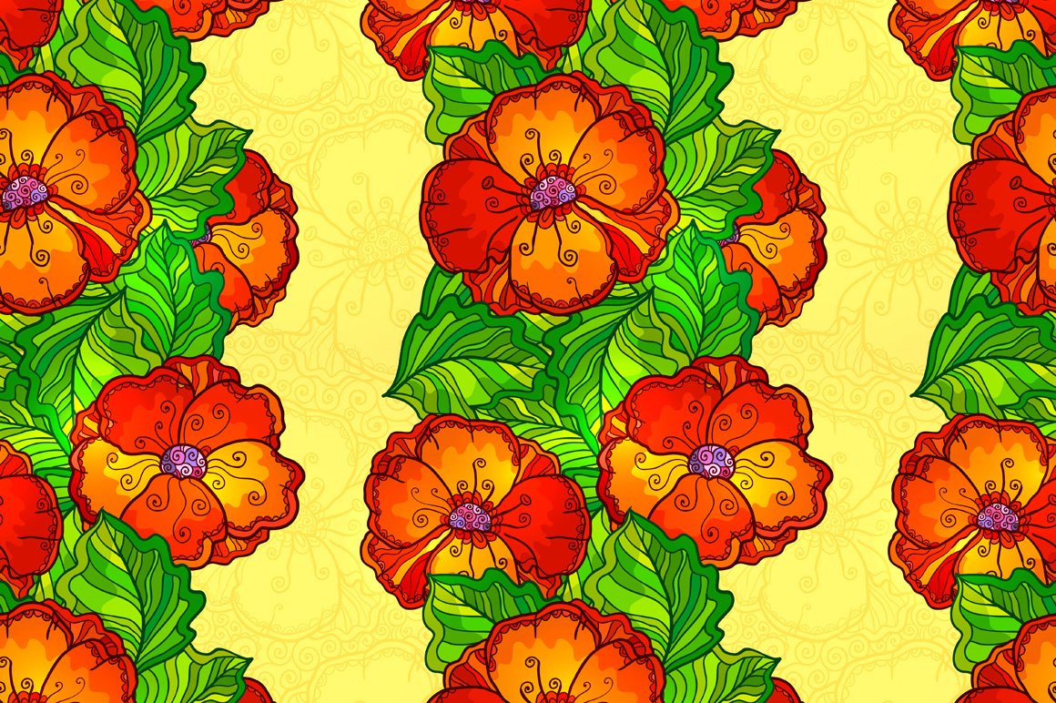8 red poppy flowers backgrounds example image 5