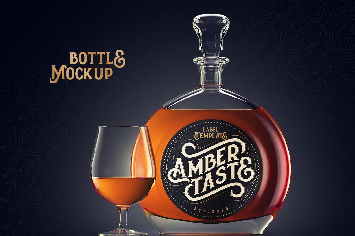 Amber Taste Font, Label, Mockup! example image 4