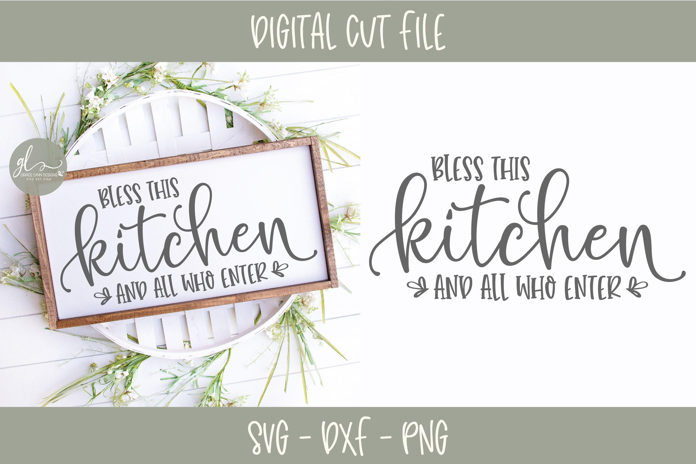 Farmhouse Kitchen Bundle - 12 Designs - SVG Cut Files example image 2