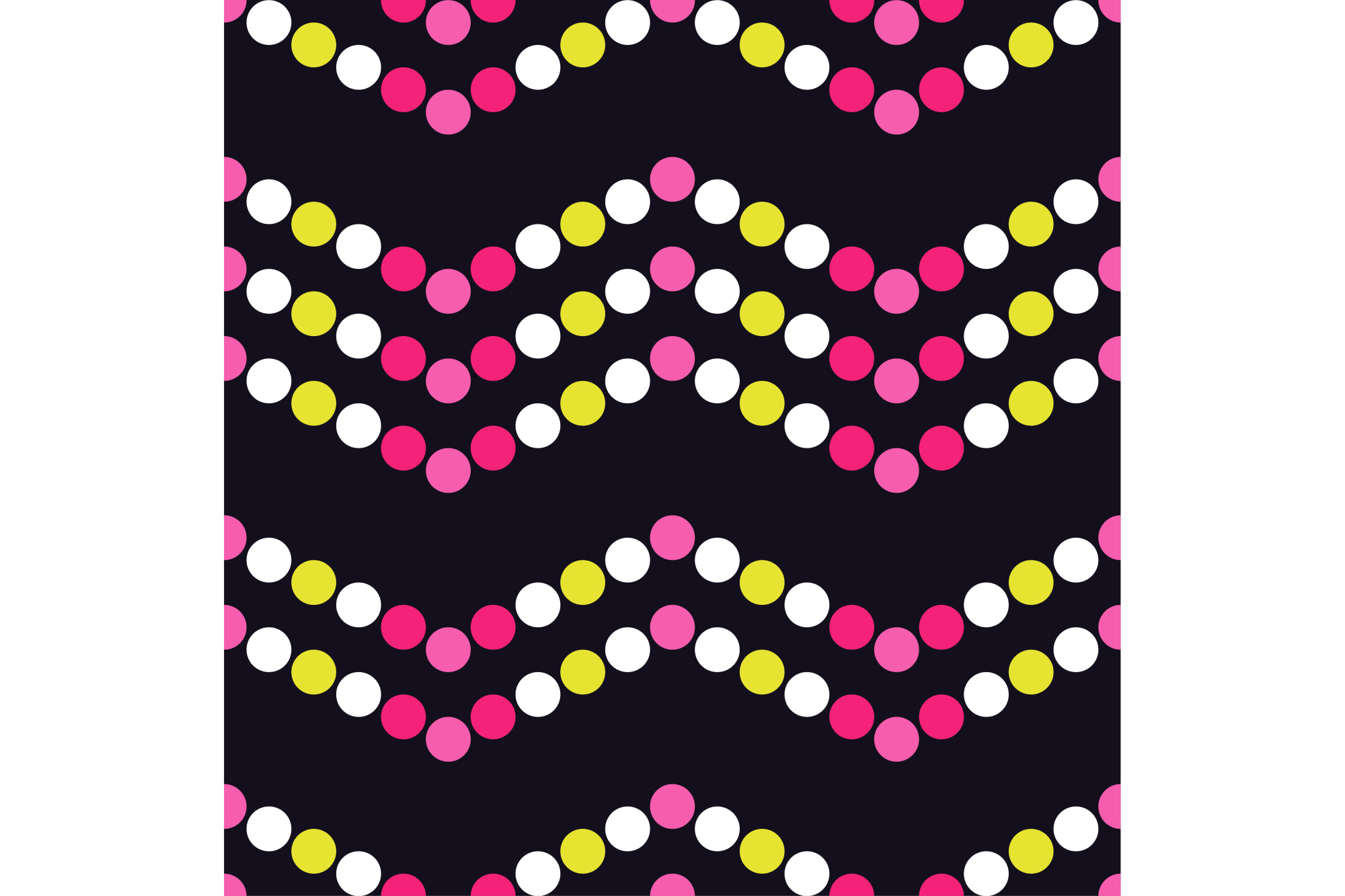 Seamless vector decorative background with circles and polka dots. Print. Cloth design, wallpaper. example image 1