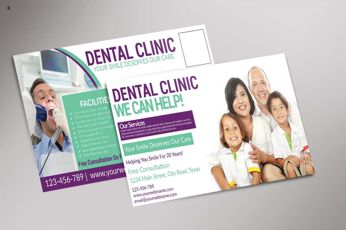 Dental Care Post Card example image 2