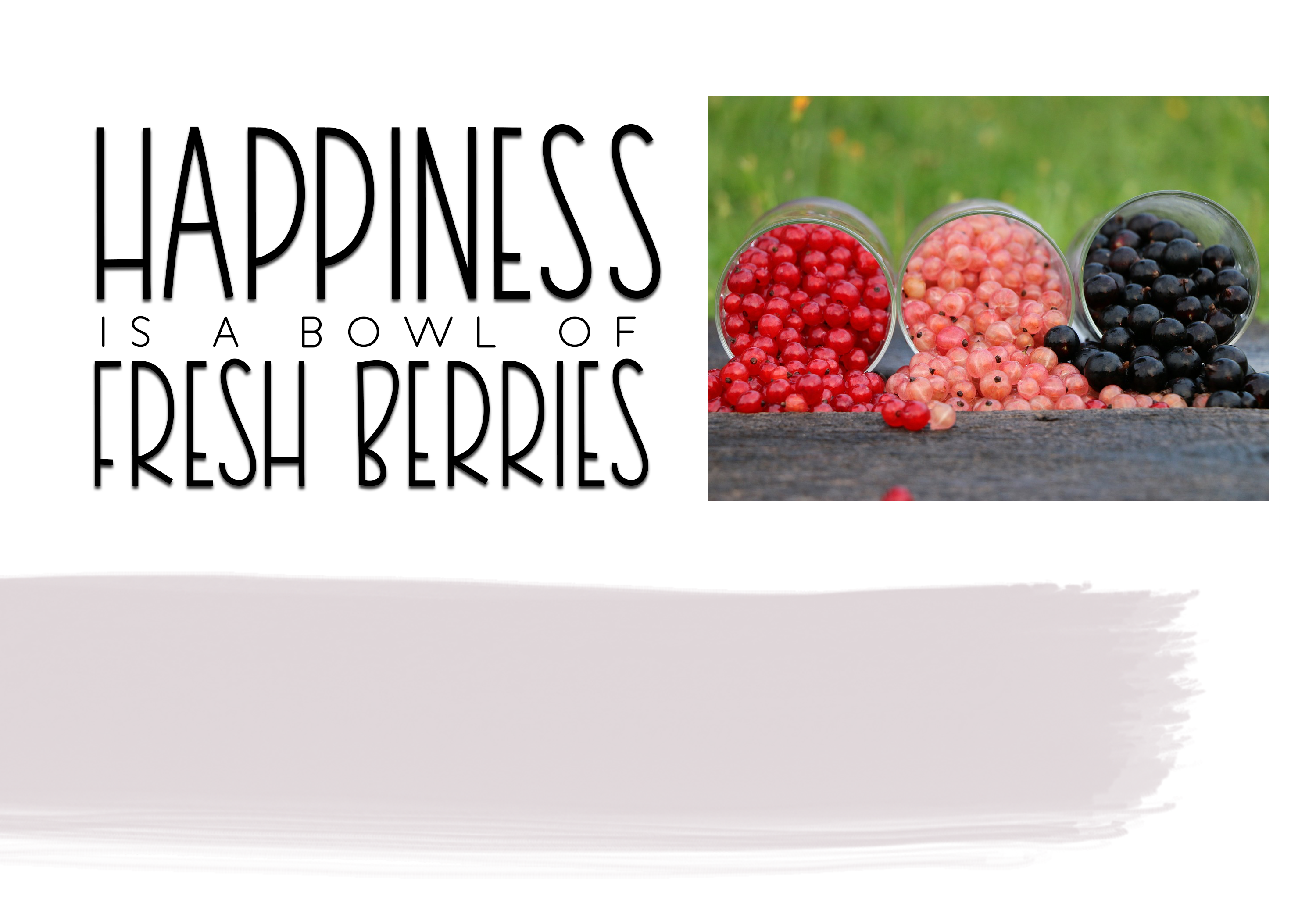Very Berry Smoothie - Tall and Thin Font example image 3