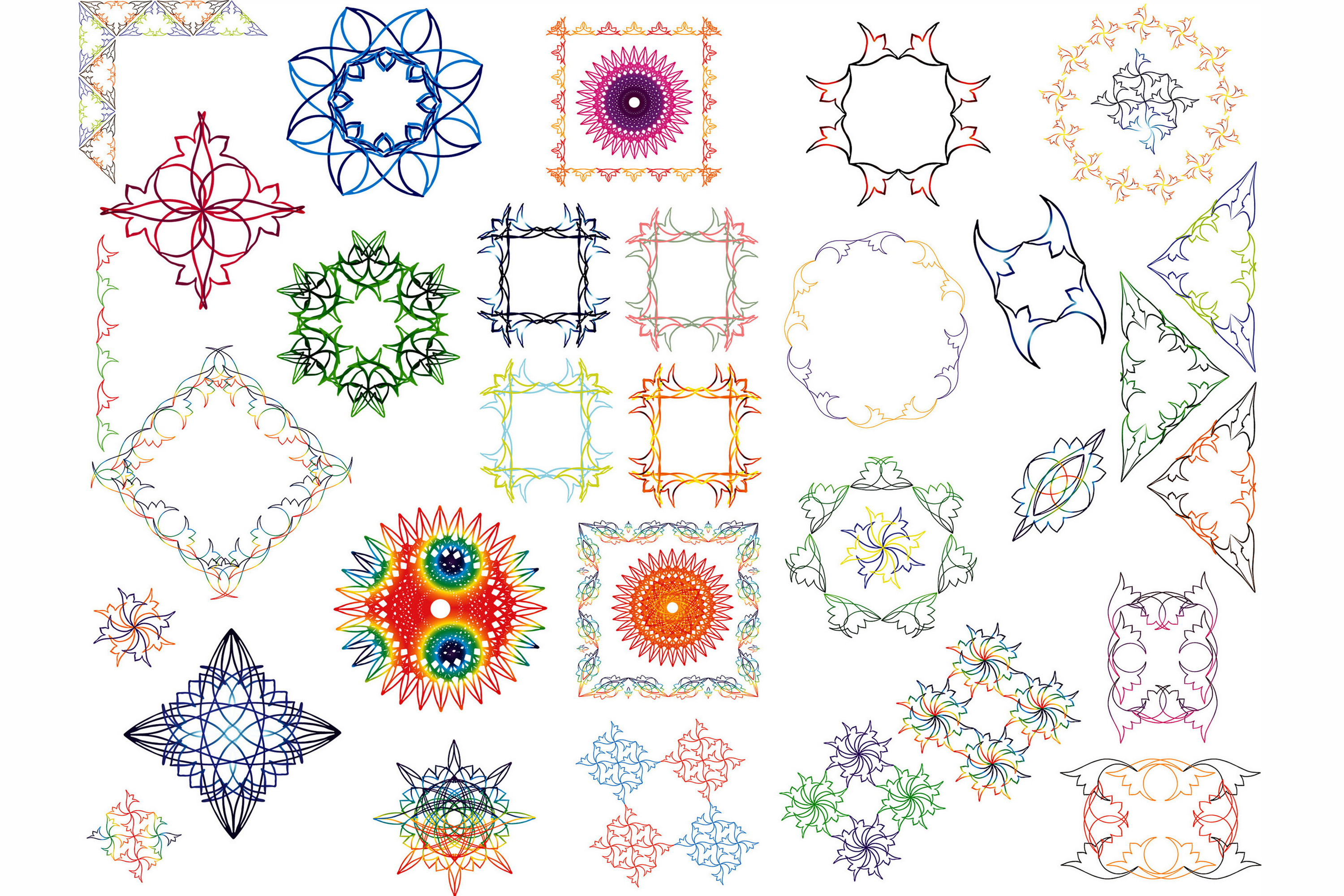 Hand Drawn Vector Design Elements_Volume 1 example image 3