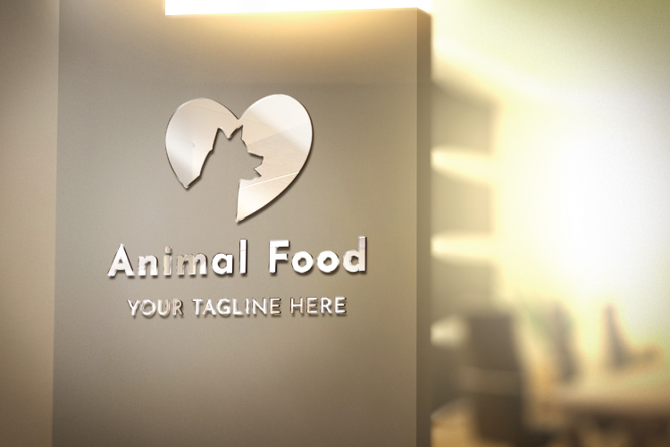 Dog love, Pets shop logo design example image 2