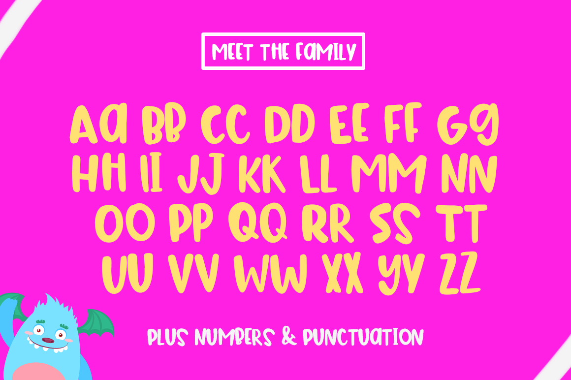 The Bouncy Font example image 2