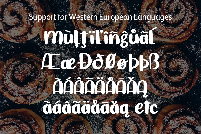 Cinnamon Bun - A sweet, handwritten font example image 8