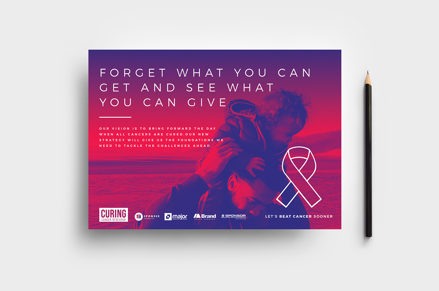 Cancer Charity Flyer Template example image 1