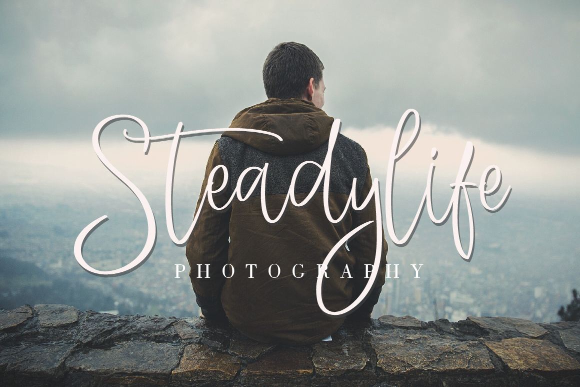StayHigh Signature Font example image 2