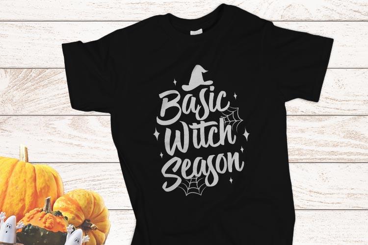 Basic Witch Season Halloween SVG example image 2