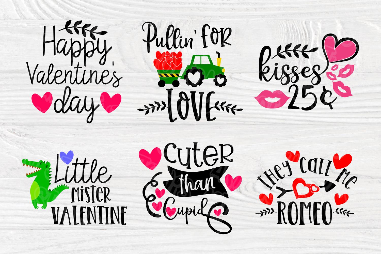 Valentines SVG Bundle | Valentines Signs | SVG Cut Files example image 3