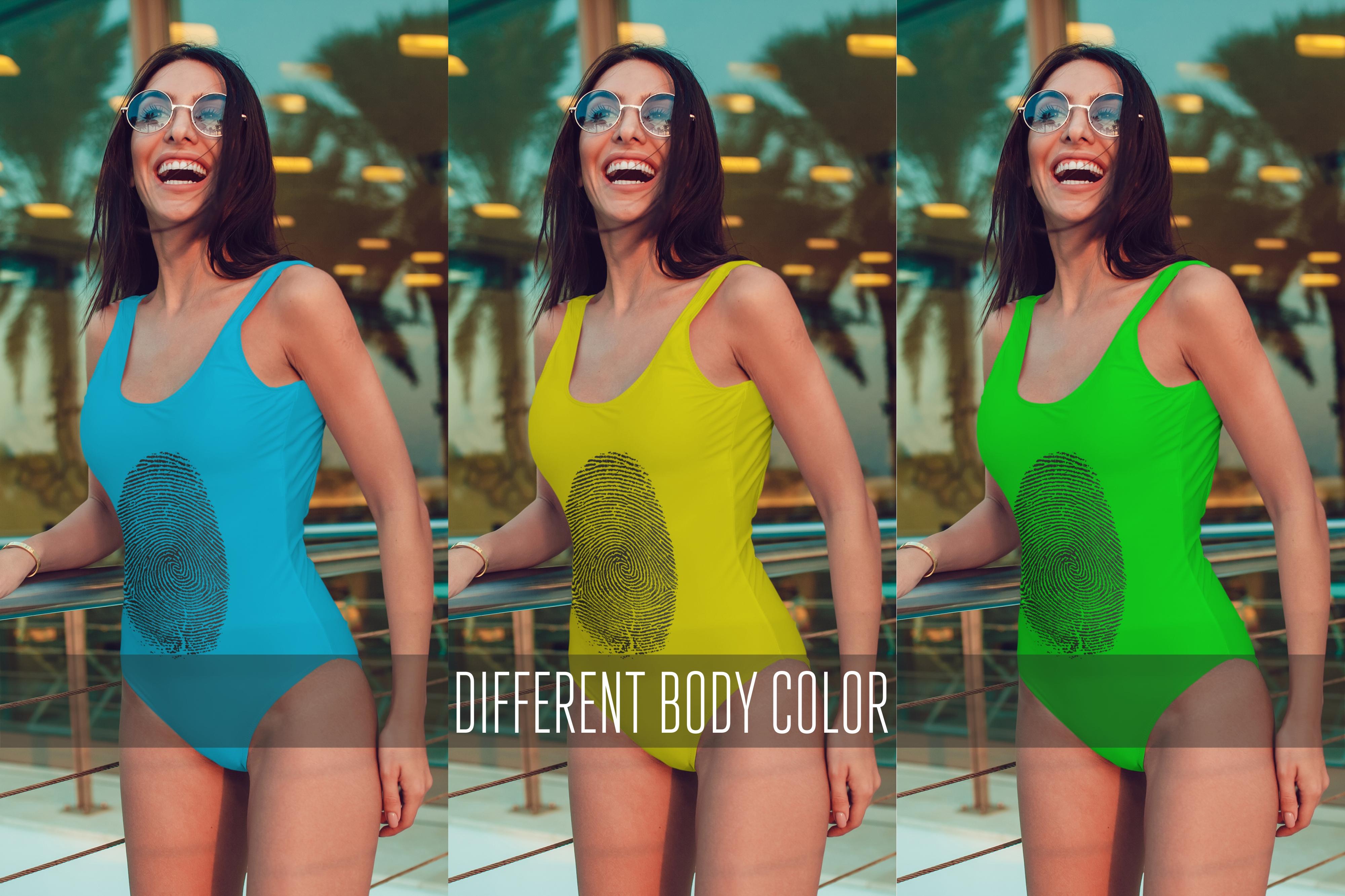 Bodysuit Mock-Up 2017 Vol.3 example image 3