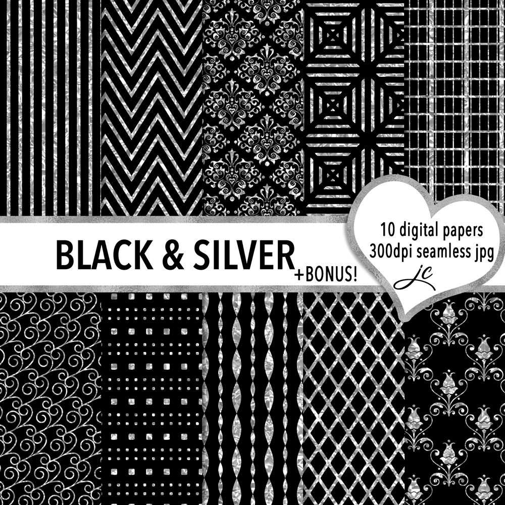 Black and Silver example image 1