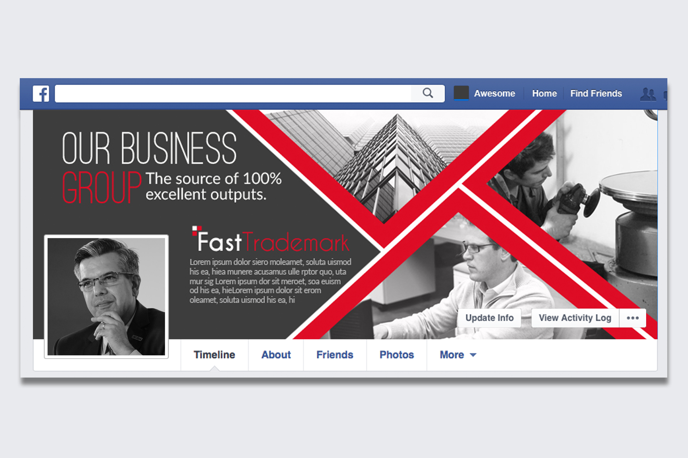 Business Facebook Timelines 06 example image 1