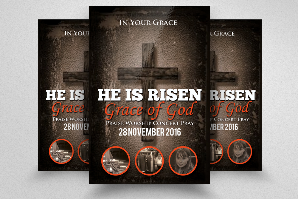 Pastors Appreciation Church Flyer Template example image 1