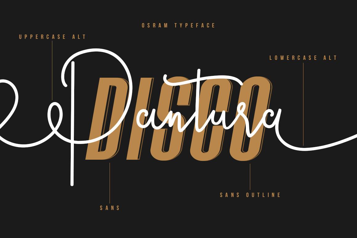 Osram Typeface example image 5