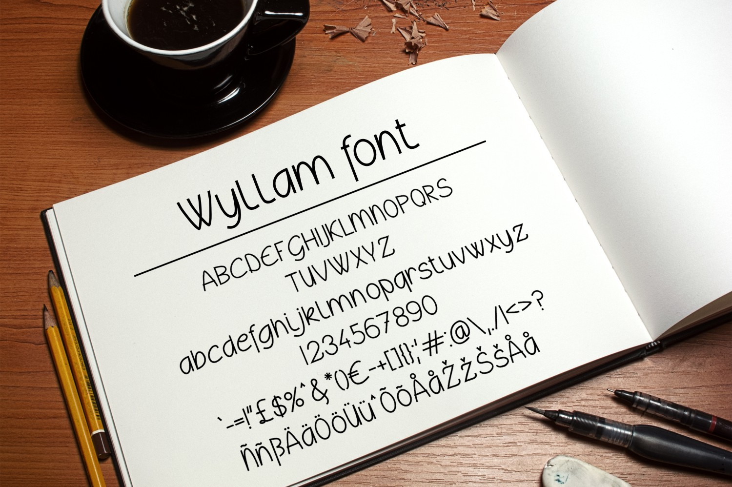 Wyllam Font example image 3