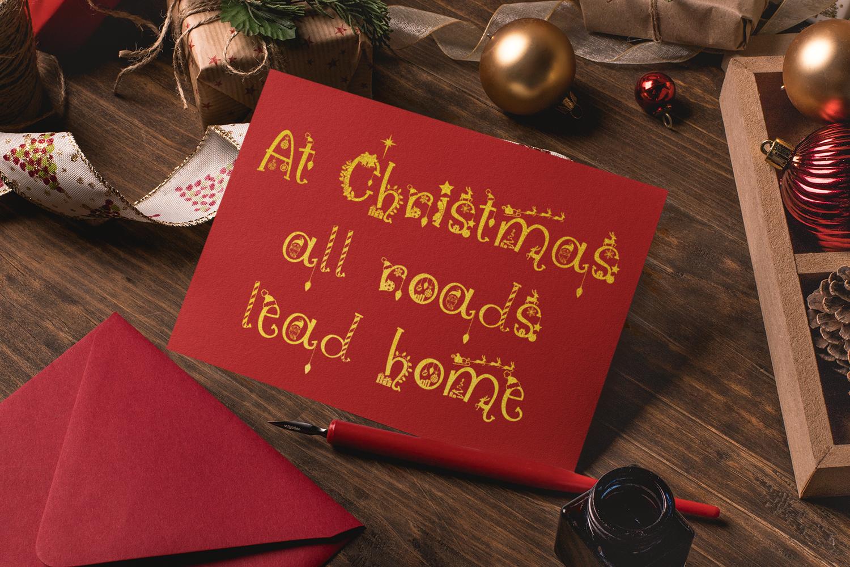 Christmas Vibes | A Whimsical Christmas Font example image 2