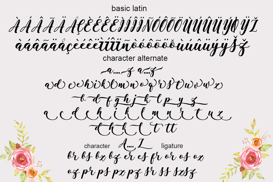 Antelope Script example image 7