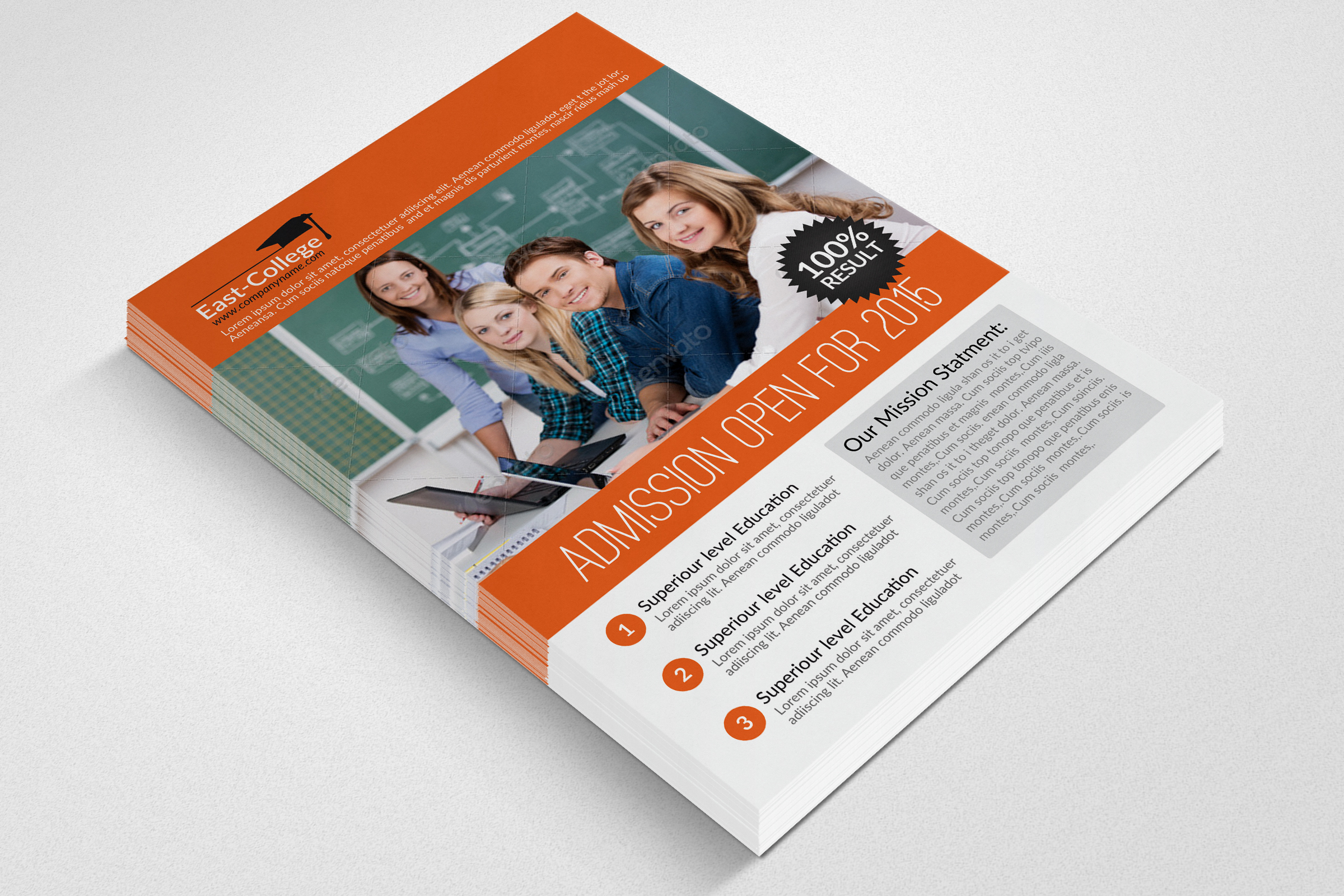 Education Flyer Template example image 3