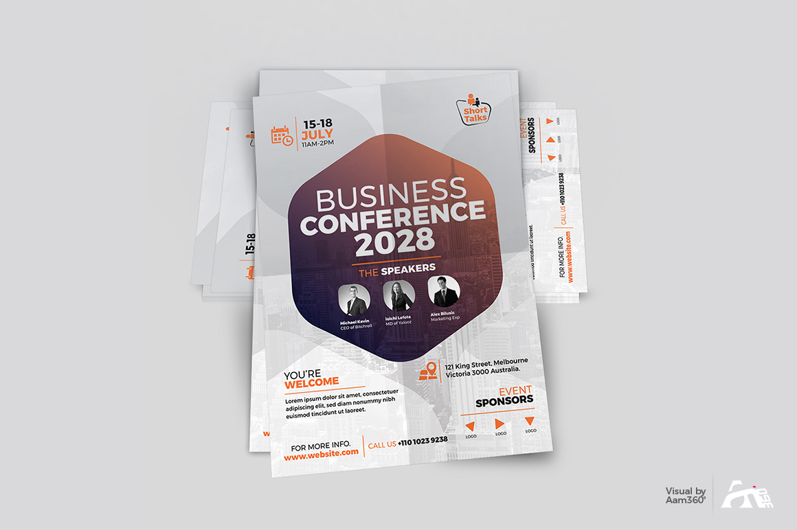 Conference Flyer example image 4
