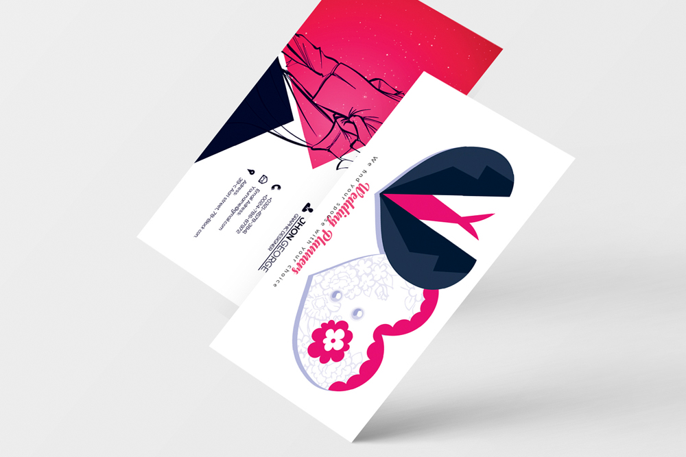 Wedding Planner's Business Card example image 4
