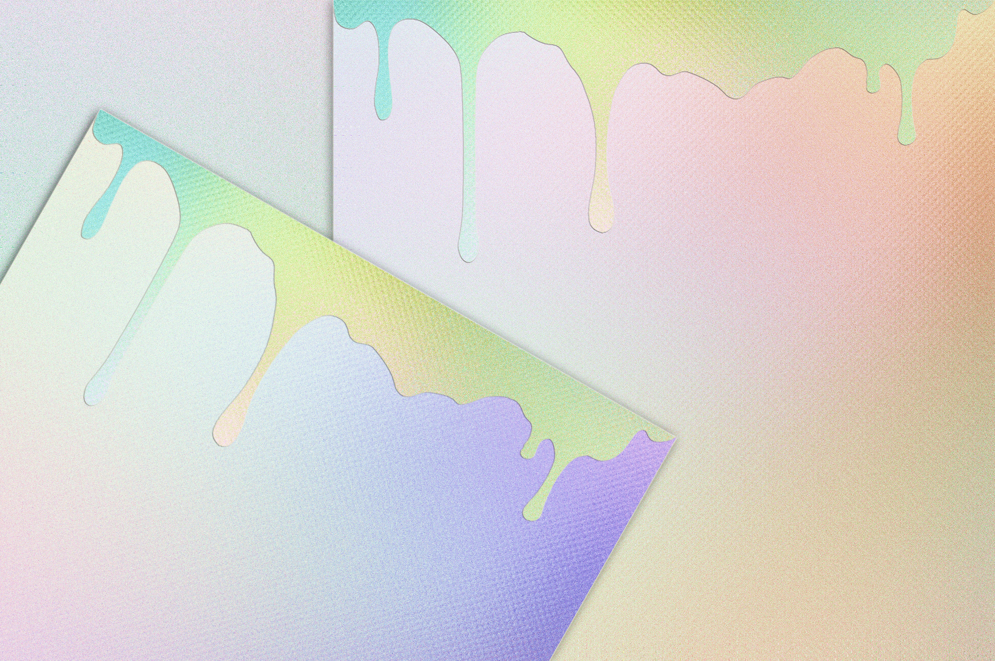 Dripping Iridescent Textures example image 2