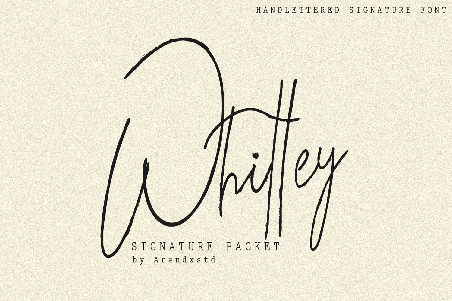 Whitley Signature Packet example image 1