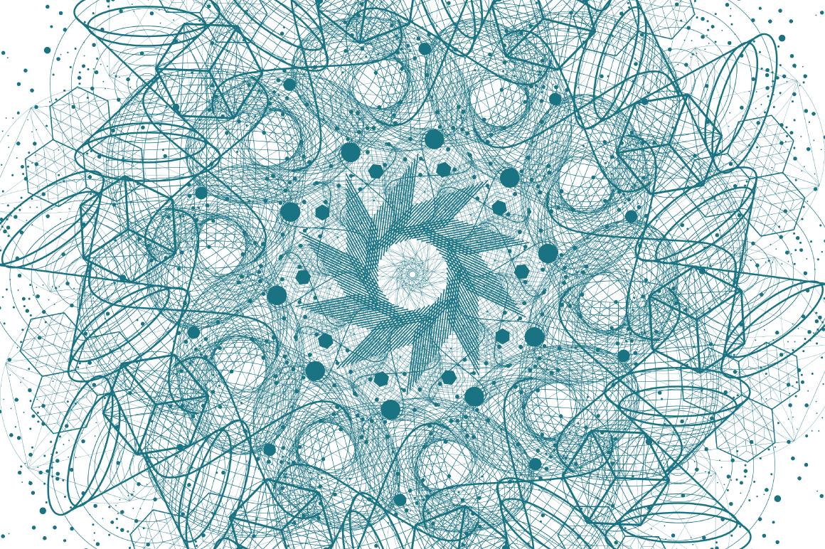 {Sacred Geometry} VECTOR MANDALAS example image 12