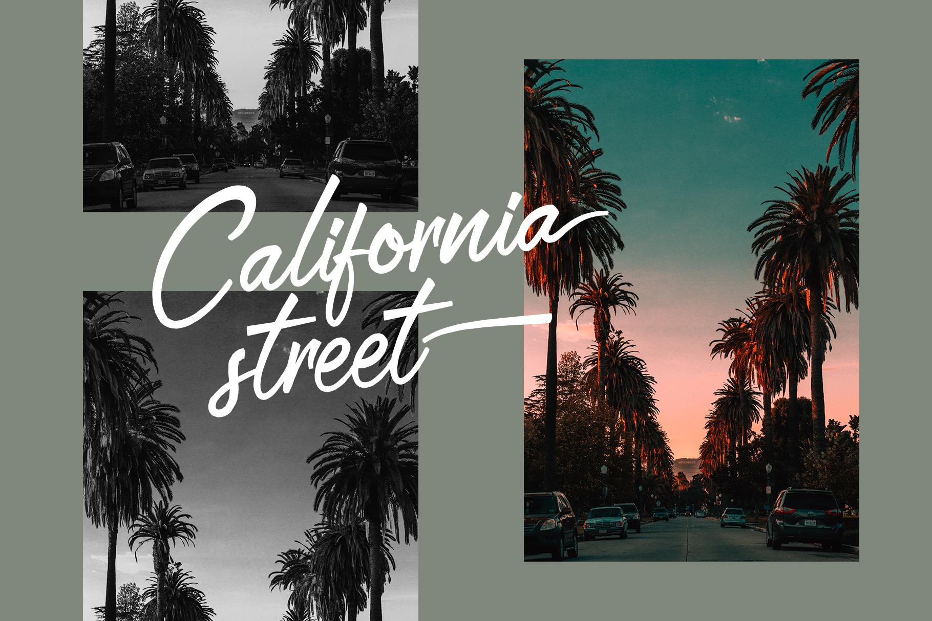 San Joaquin font example image 6