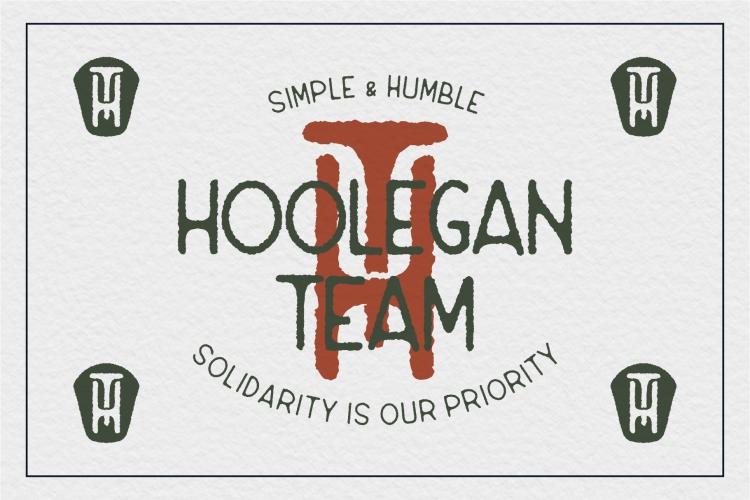 Hoolegan Font Duo example image 9