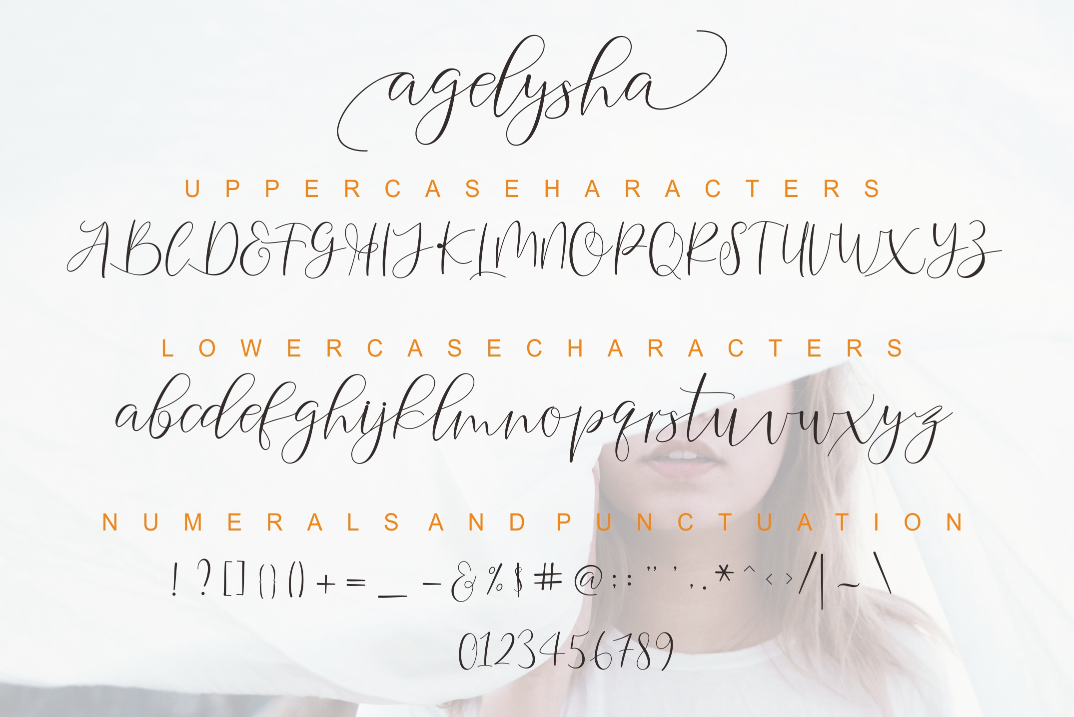 Agelysha Script example image 9