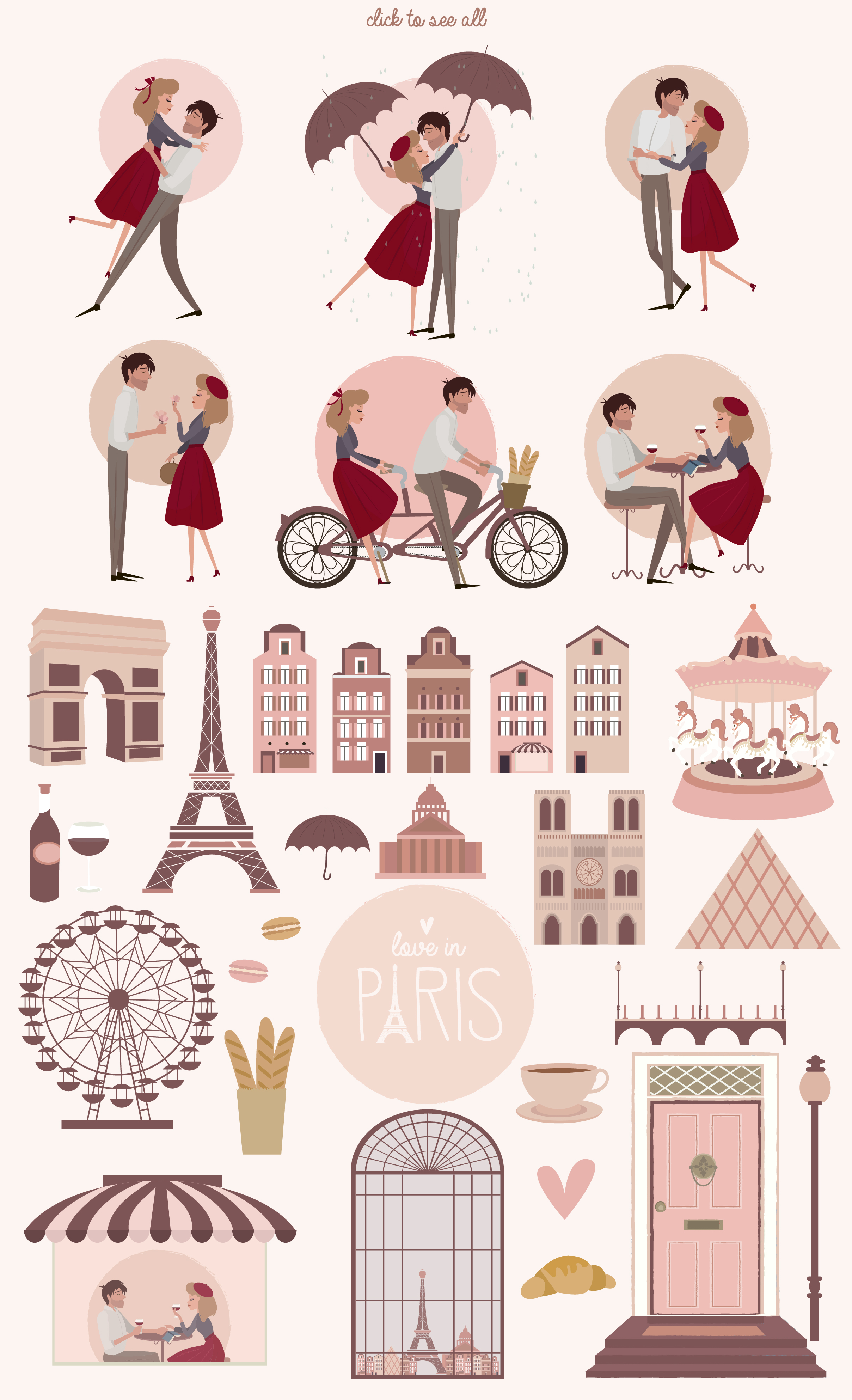 Paris. One romantic story example image 3