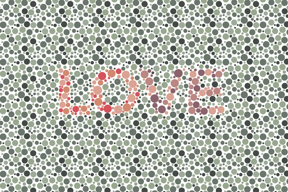 Color Blindness Test Typeface example image 5