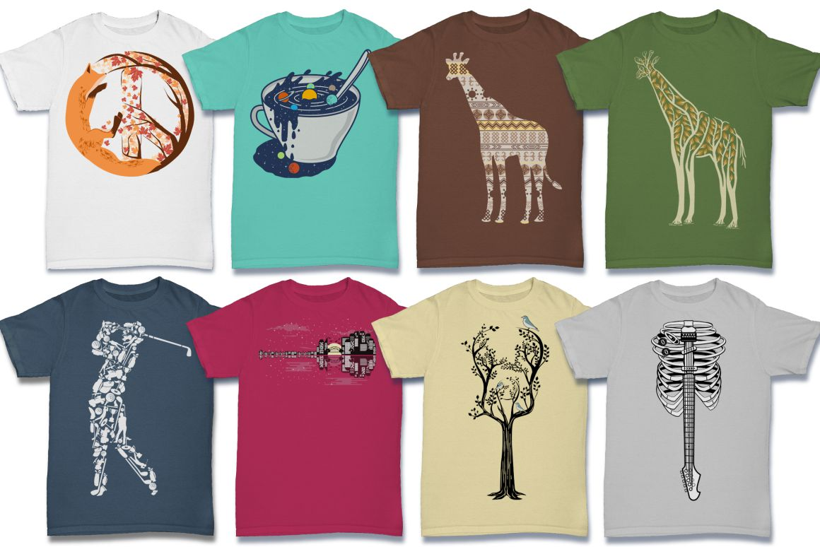 103 Tshirt Designs Mega Bundle example image 7