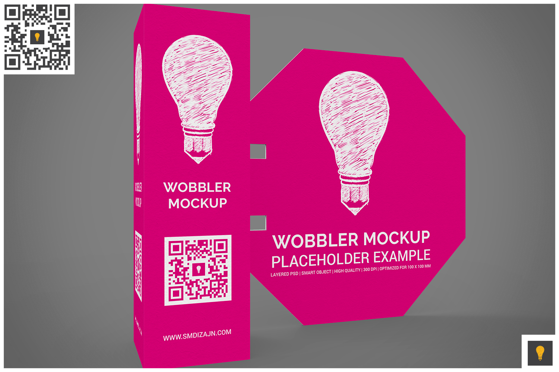 3D Wobbler Mockup example image 6