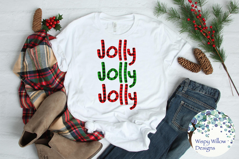 Buffalo Plaid Christmas Bundle SVG Cut Files example image 5