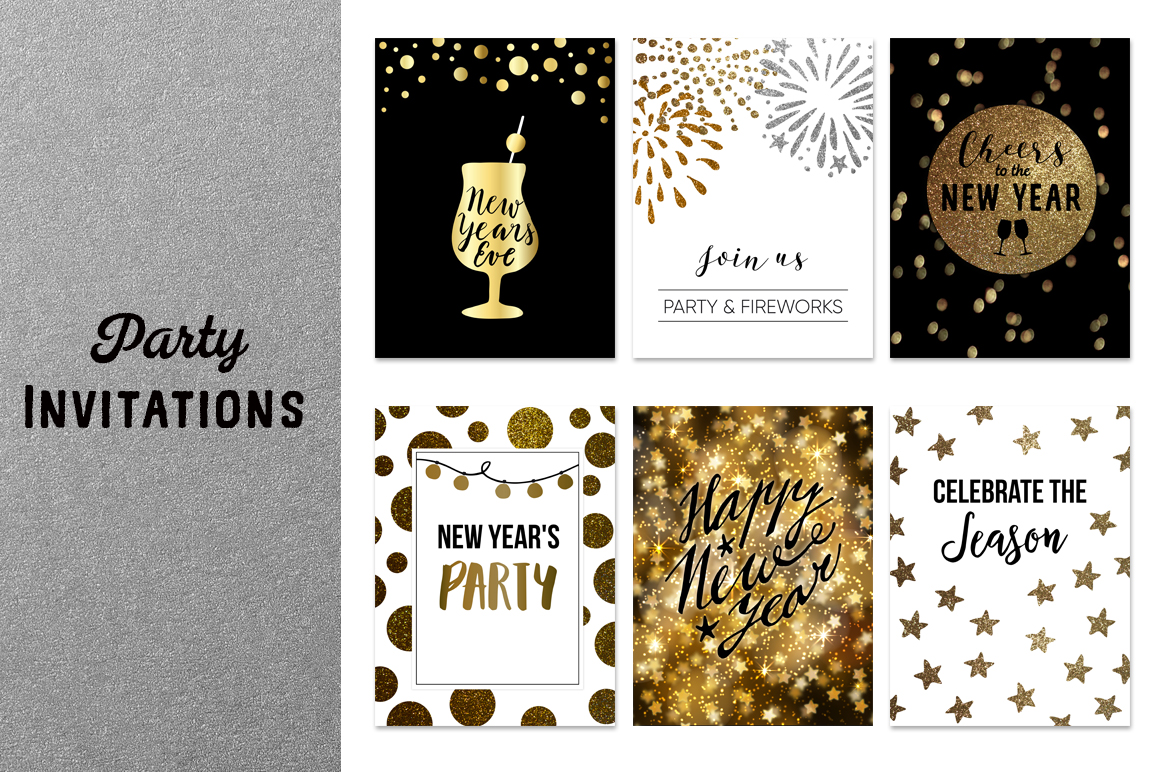 New Year's  party set example image 9