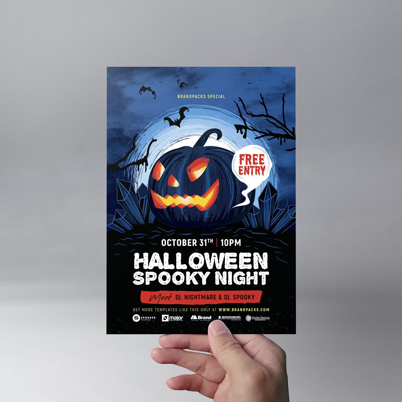 Halloween Flyer Templates example image 8