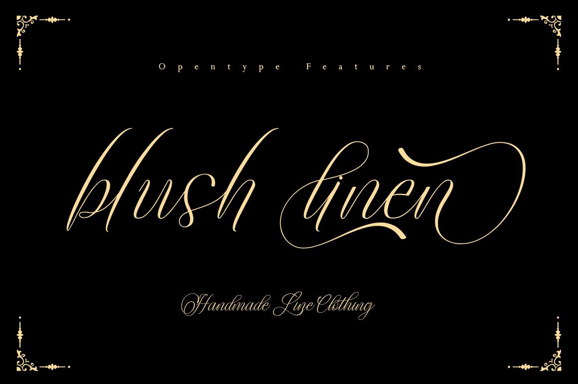 Sweeth Calligraphy Design - Font Bundles example image 4