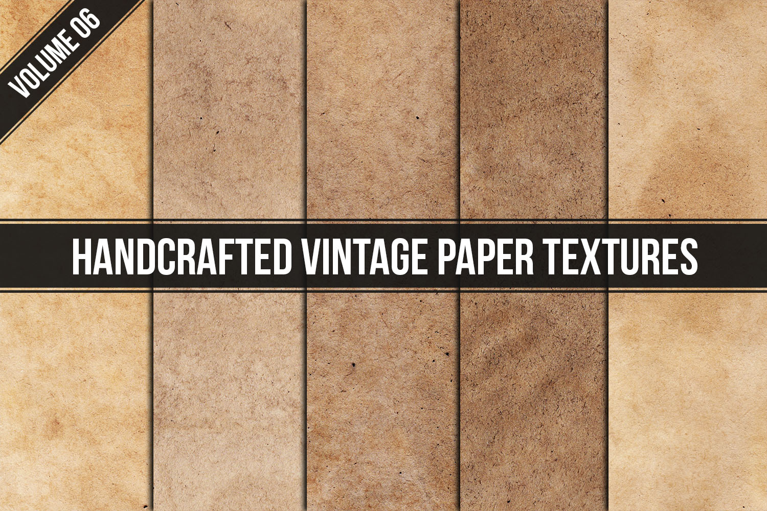 Handcrafted Vintage Paper Textures Vol. 06 example image 1