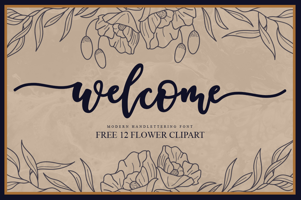 Welcome Handlettering Font example image 1