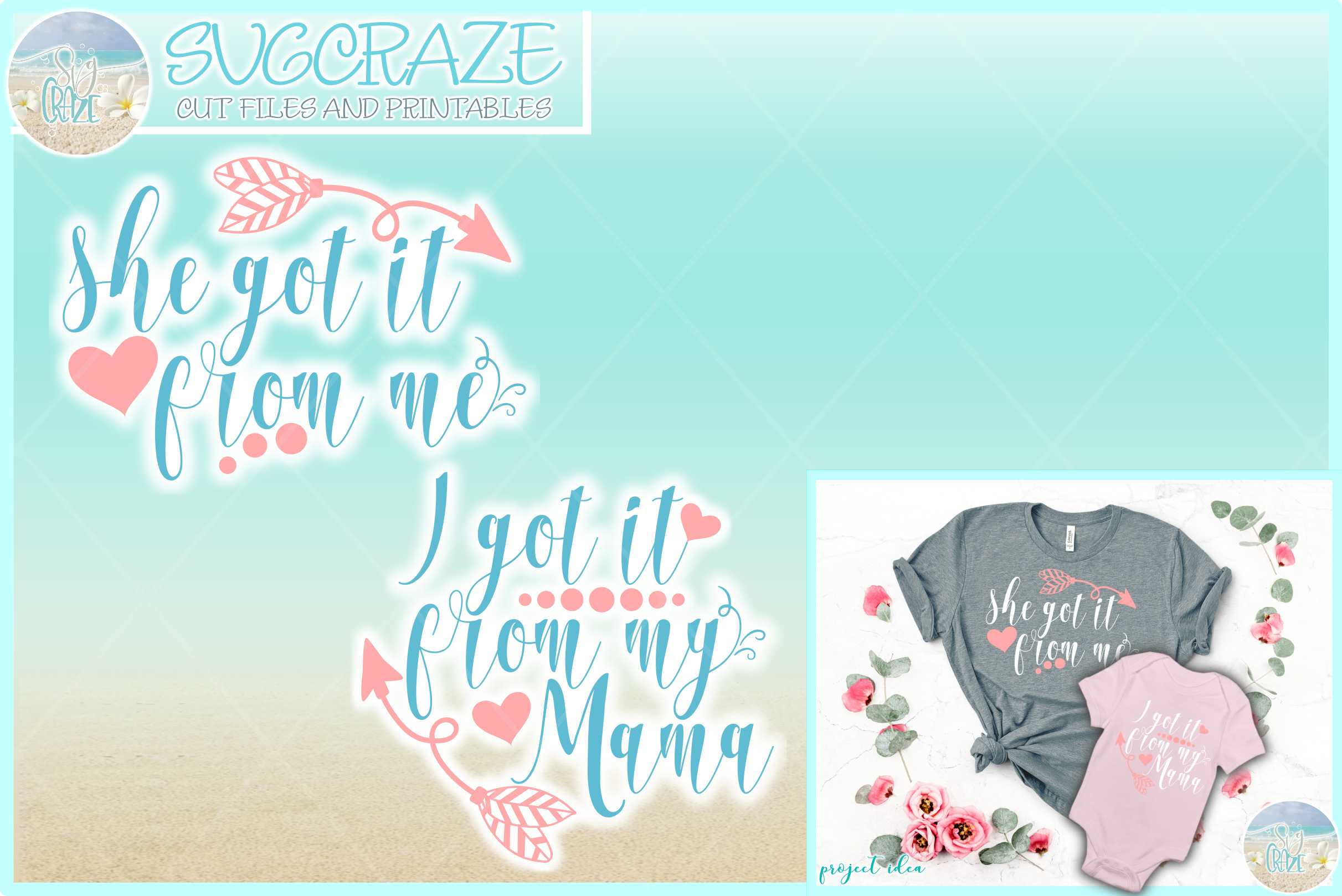 She Got It From Me I Got It From My Mama Svg Dxf Eps Png 124336 Svgs Design Bundles