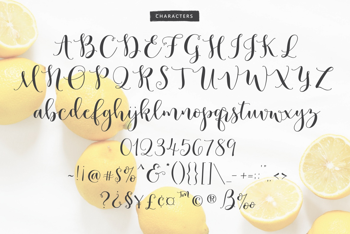 Lemons Mangos Sunshine example image 9