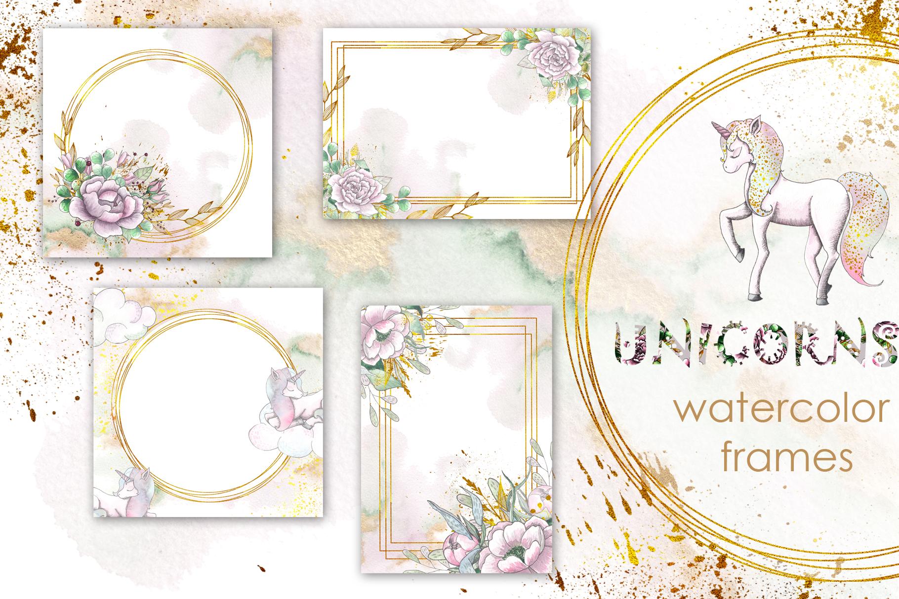 Charming Unicorns Bundle example image 25