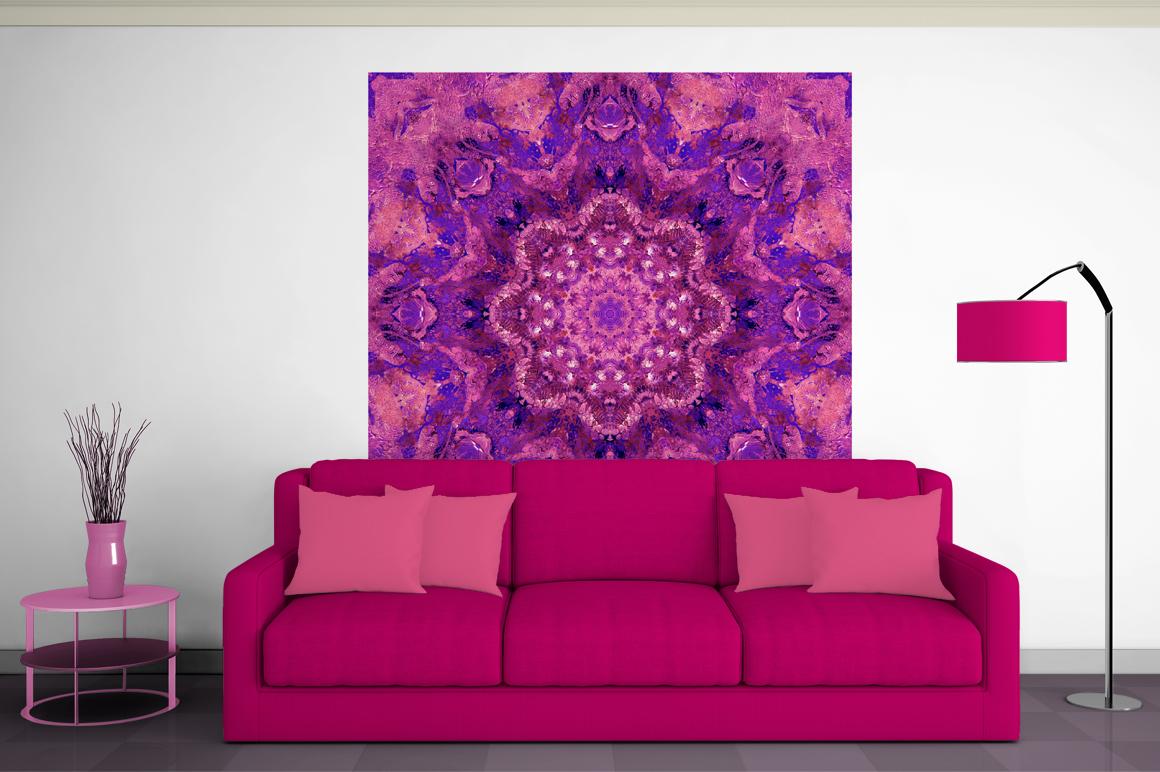 Purple MANDALAS Art example image 17