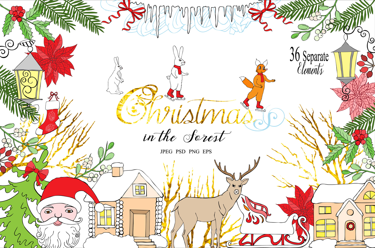 Christmas in the Forest example image 1