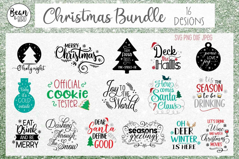 Christmas Holiday Bundle example image 2
